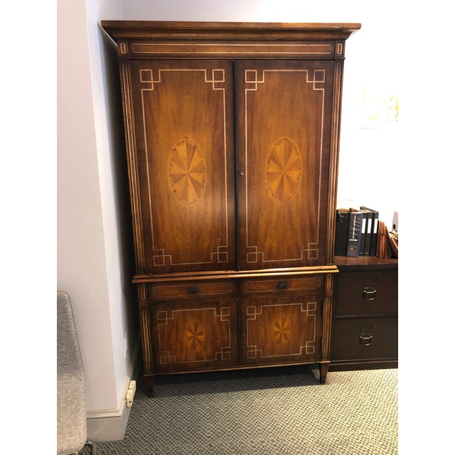ABC Carpet & Home Abc Carpet & Home Armoire Cabinet For Sale - Image 4 of 4