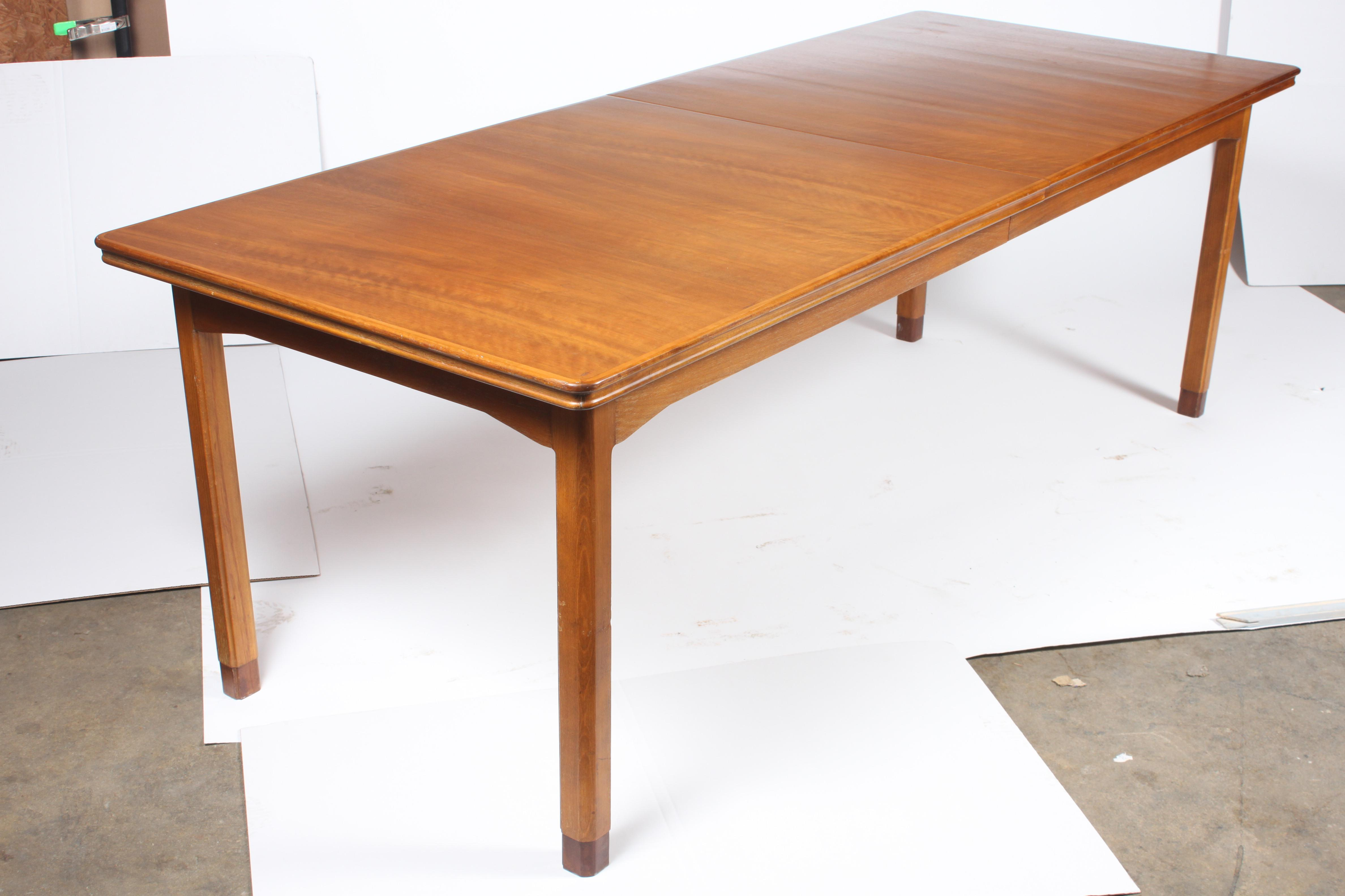 Attractive Art Deco Danish Art Deco Dining Table For Sale   Image 3 Of 7