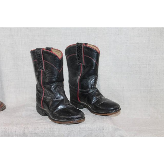 Collection of 1930s Children's Cowboy Boots - Image 5 of 10