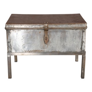 Metal Coffee Table or Side Table For Sale