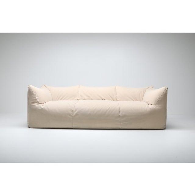 Mario Bellini Mario Bellini 'Le Bambole' Three-Seat Couch in Alcantara For Sale - Image 4 of 10