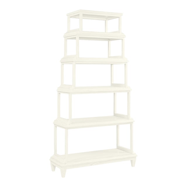 Jules Etagere, Cloud White For Sale
