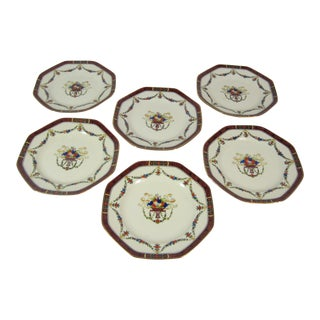 Noritake Lunchen Plates - Set of 6 For Sale