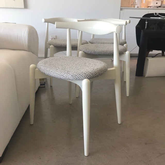 Modern Hans Wegner for Carl Hansen and Sons Original Ch20 Elbow Chairs- Set of 4 For Sale - Image 10 of 13