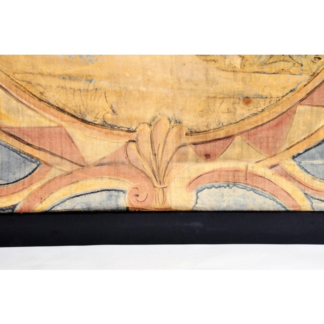 18th Century French Chateau Banner For Sale - Image 10 of 13