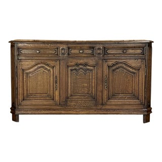 19th Century Country French Buffet ~ Enfilade For Sale