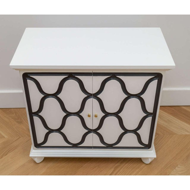 Contemporary Dorothy Draper Two-Door Cabinet For Sale - Image 3 of 8