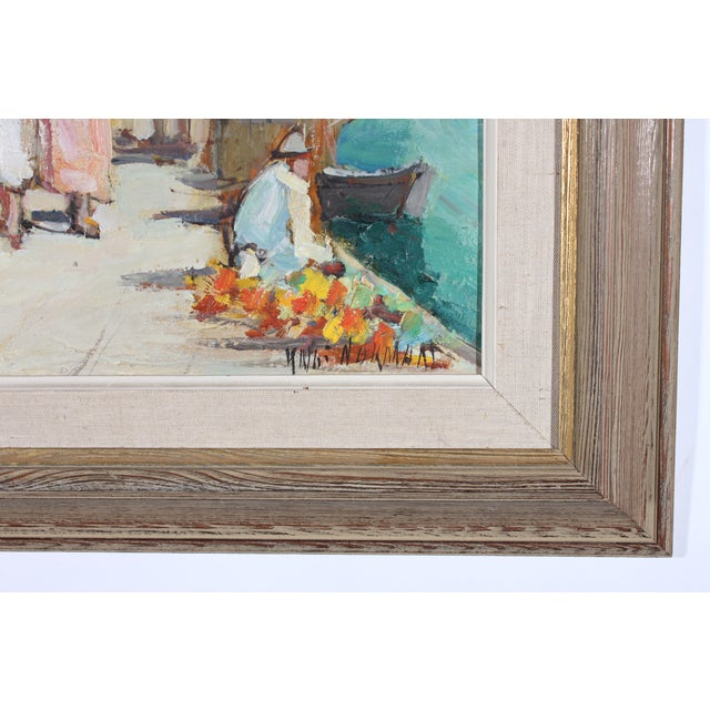 """Knut Norrman """"Venice Impressionist"""" Oil Painting - Image 3 of 3"""