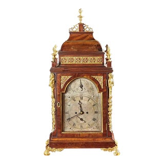 A Fine English Clock by Joseph Bell of London For Sale