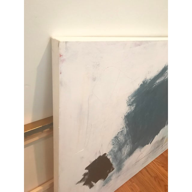 """Canvas """"Percussion"""" by Sarah Trundle, Contemporary Abstract Painting For Sale - Image 7 of 7"""