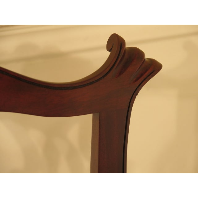 43475e Henkel Harris #112 Ball & Claw Mahogany Dining Room Chairs - Set of 8 - Image 7 of 11