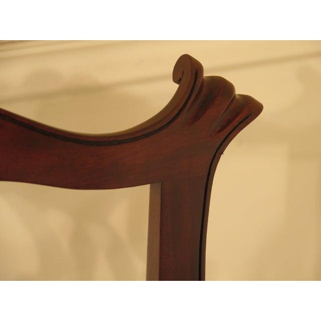 Mahogany 43475e Henkel Harris #112 Ball & Claw Mahogany Dining Room Chairs - Set of 8 For Sale - Image 7 of 11