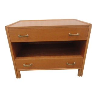 1970s McGuire American Furniture Side Table For Sale