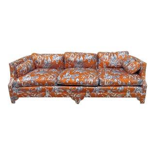 Henredon Style Mid-Century Modern Sofa For Sale