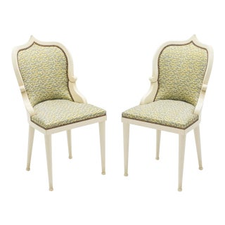 Extremely Rare Set of 15 Garouste & Bonetti 'Palace' Dining Chairs 1980 For Sale