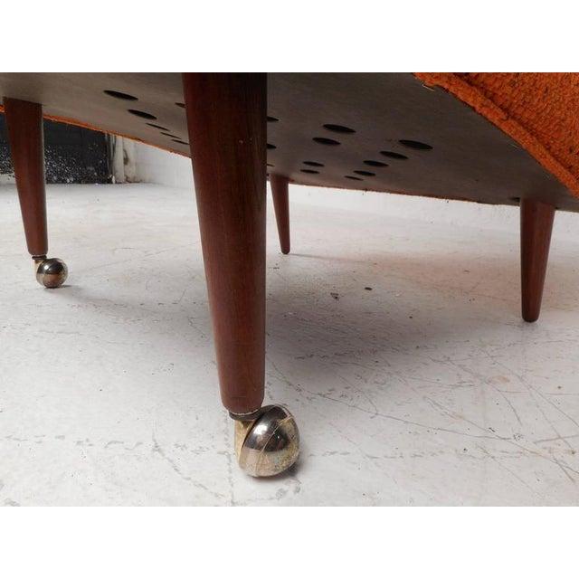 Mid-Century Modern Milo Baughman Armchairs - Set of 4 - Image 7 of 8