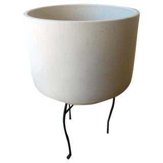 Gainey Planter Pot Pottery Huge C-19 For Sale