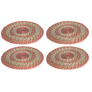 Tangerine Rainbow Placemats - Set of 4
