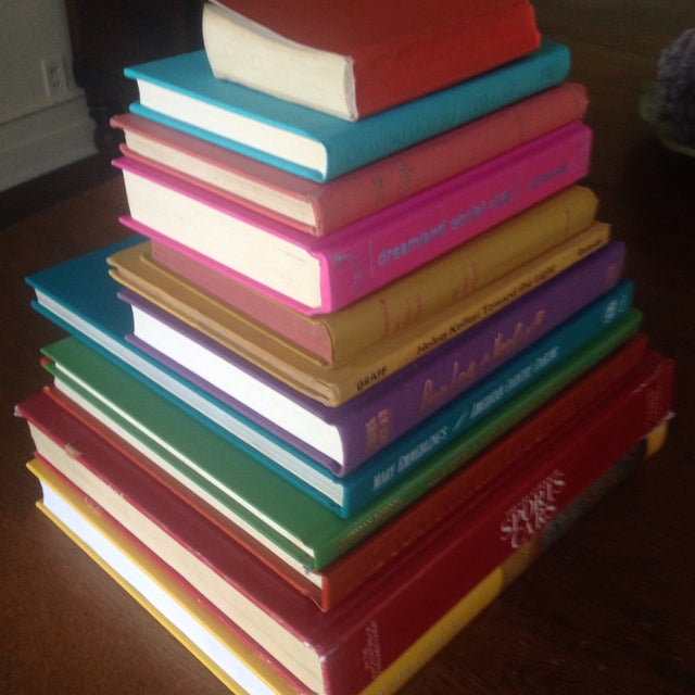 Brightly Colored Decorative Books - Set of 12 - Image 6 of 11