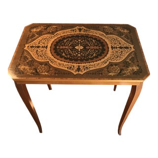 Ornate Italian Accent Table For Sale
