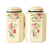 Image of Farmhouse Salt & Pepper Shakers - A Pair For Sale