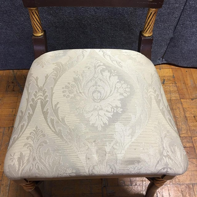 Wooden Ornate Dining Chairs - Set of 6 - Image 10 of 11
