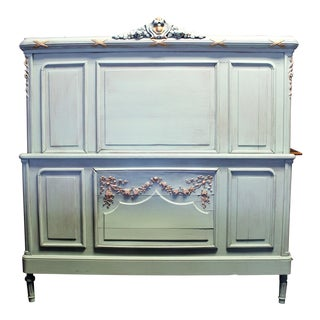 Antique Louis XVI Painted Bed For Sale