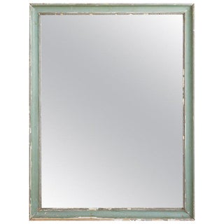 Louis XVI Style Late Gustavian Painted Mirror For Sale