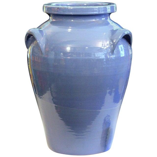 Huge Pickrull Zanesville Norwalk Pot Shop Urn Pottery Arts & Crafts Floor Vase For Sale - Image 12 of 12