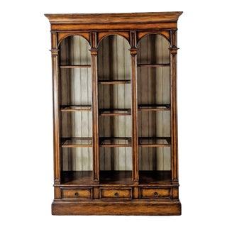 Hooker Furniture Wooden Bookcase For Sale