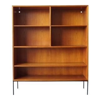 Adjustable Teak Book or Display Shelf