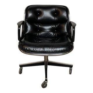 Knoll Pollock Executive Armchair by Charles Pollock For Sale