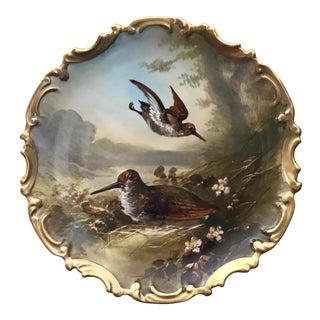 Antique XIX Century Decorative Plate
