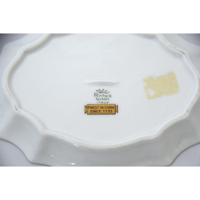 1970s Richard Ginori Oriente Italian Porcelain Soap Dish For Sale - Image 5 of 7