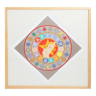 Robert Indiana-the Metamorphosis of Norma Jean Mortenson-1997 Framed -signed