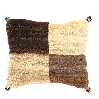 Persian Gabbeh Lori Baft Pillow For Sale
