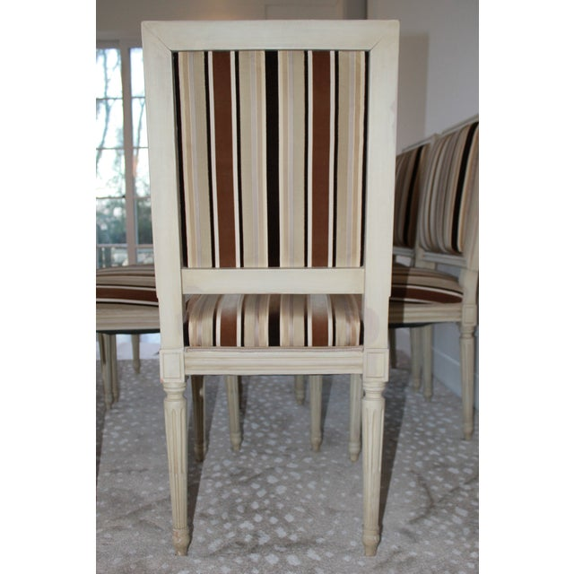 Louis XVI Style Dining Chairs - Set of 6 For Sale - Image 4 of 8