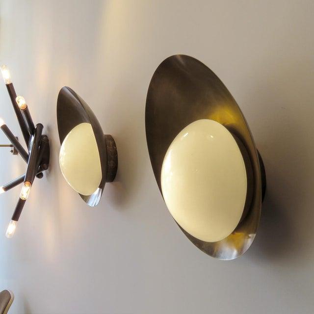 "Custom ""Concha"" Wall Lights For Sale - Image 9 of 11"