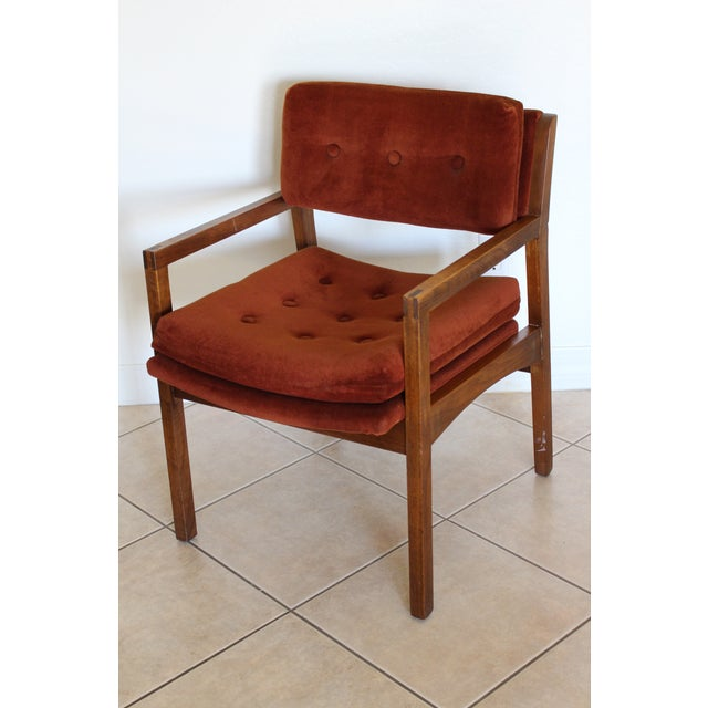 Mid-Century Cube Chairs - A Pair - Image 5 of 11