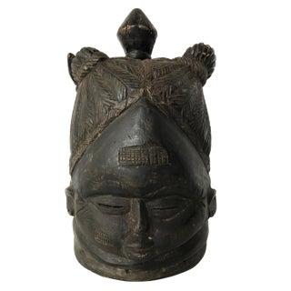 Mende Helmet Mask Sande Society Sowei Liberia