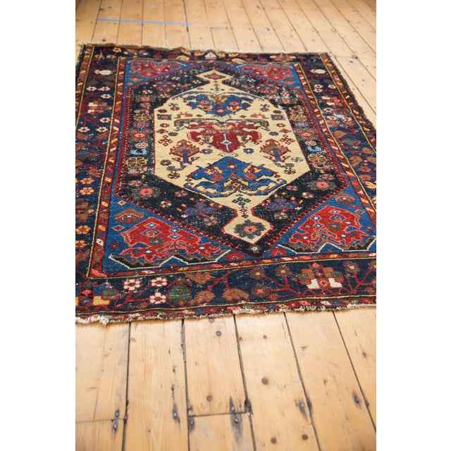 """1930s Vintage Malayer Rug - 4'7"""" X 6'3"""" For Sale - Image 5 of 11"""