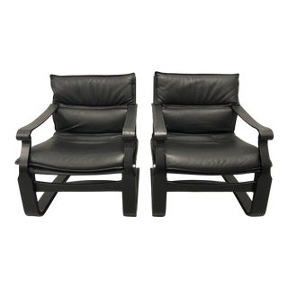 Nelo Chairs Designed by Ake Fribytter - a Pair For Sale