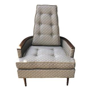 Mid Century Modern Karpen Furniture Armchair For Sale