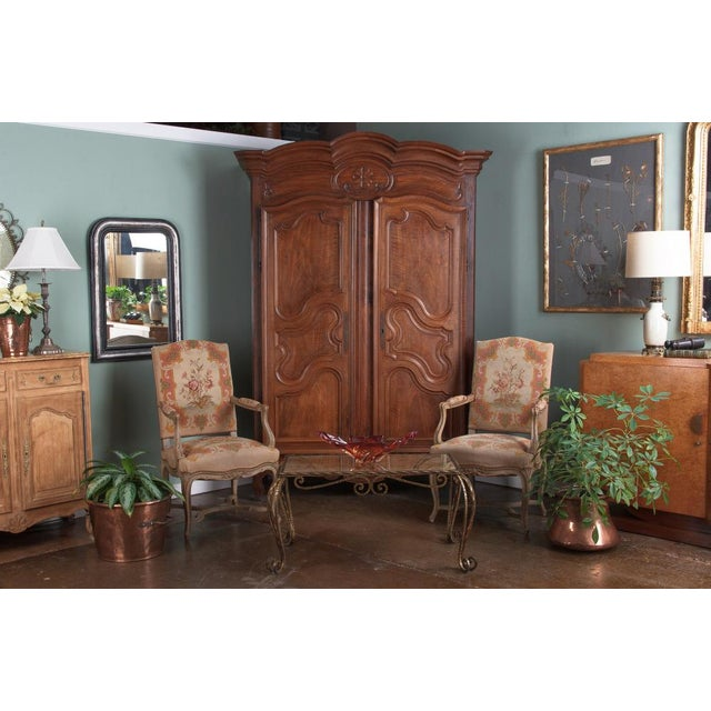 French Louis XV Walnut Armoire, Circa 1800s - Image 8 of 11