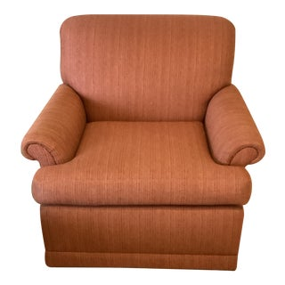 Baker Red Club Chair For Sale