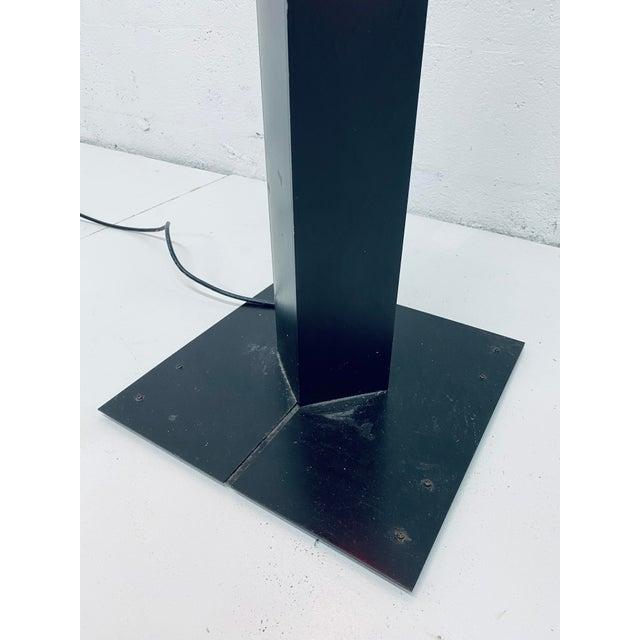 Rudi Stern Postmodern Red Neon Floor Lamp for George Kovacs, 1980s For Sale - Image 11 of 13