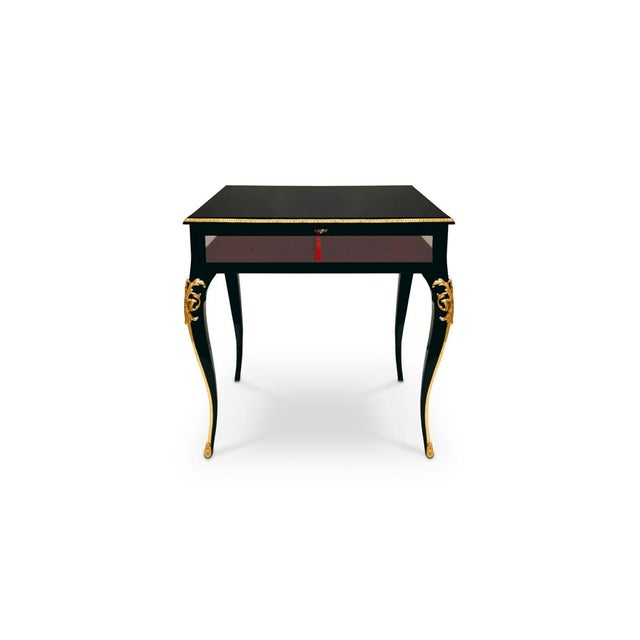 Cabriole Side Table From Covet Paris For Sale - Image 4 of 6