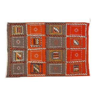 Berber Medium Rug - Tribal Handwoven Wool 100% Organic Dye For Sale