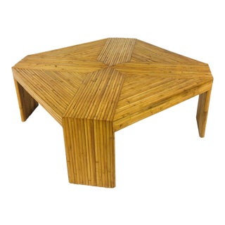 Split Bamboo Coffee Table