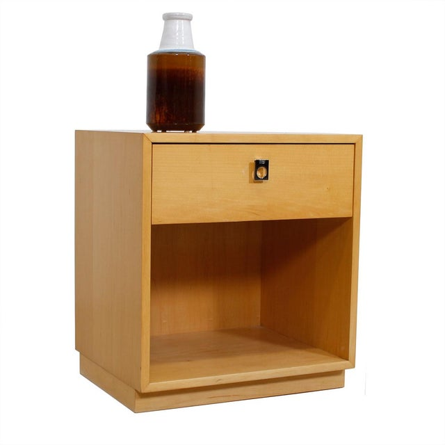 Jack Cartwright for Founders Blonde End Table For Sale - Image 10 of 10